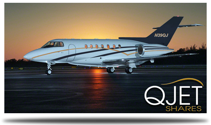 Q-Jet Shares - Fractional Private Jet Ownership - Aircraft Exterior Photo