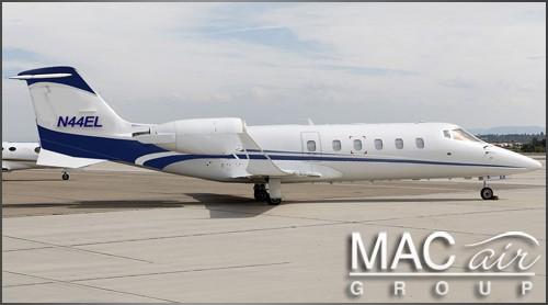 Learjet 60 – N44EL